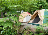 テント不要なキャンプイメージ