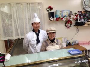 七山 ケーキ屋さん アノンジュ パティシエ