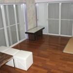白いコテージ01 リビング兼寝室